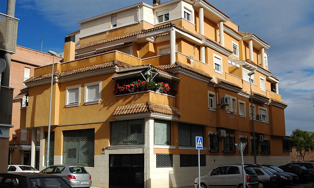 Edificio Sandra - Rehabilitación de fachadas en Murcia