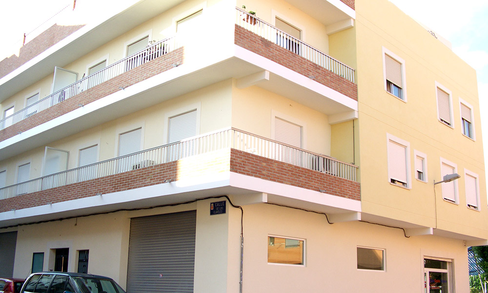 Fachada El Patio - Rehabilitación de fachadas en Murcia