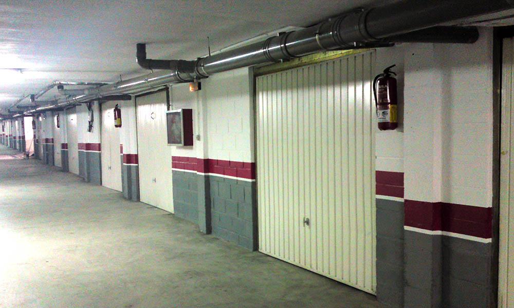 Reforma de garaje en Murcia