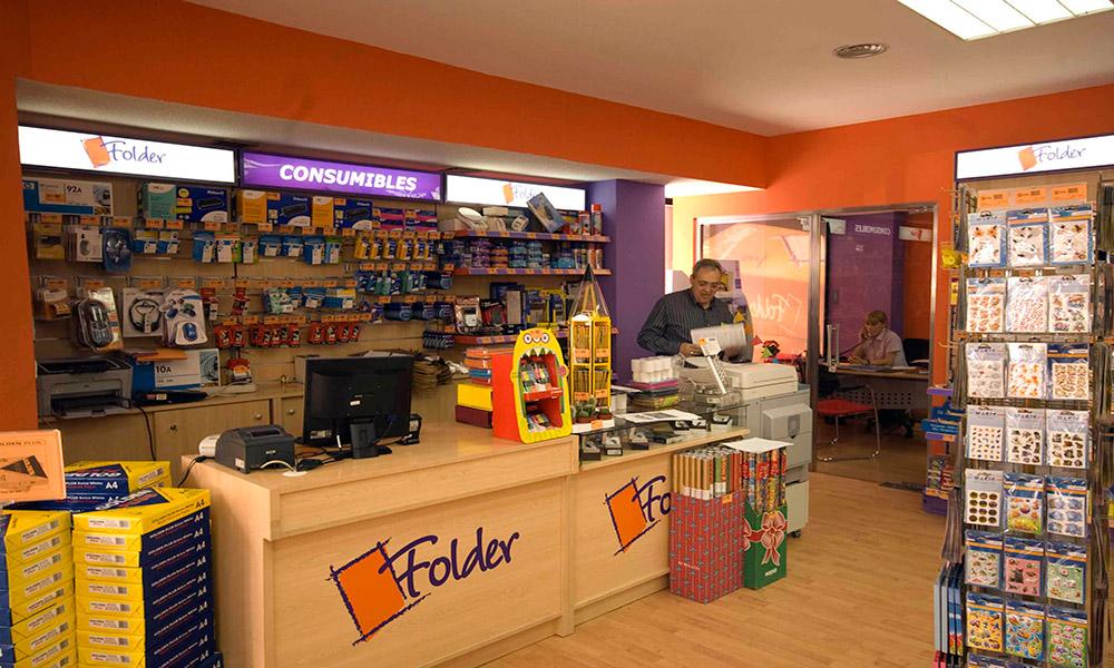 Reforma de locales en Murcia - Librería Folder 04