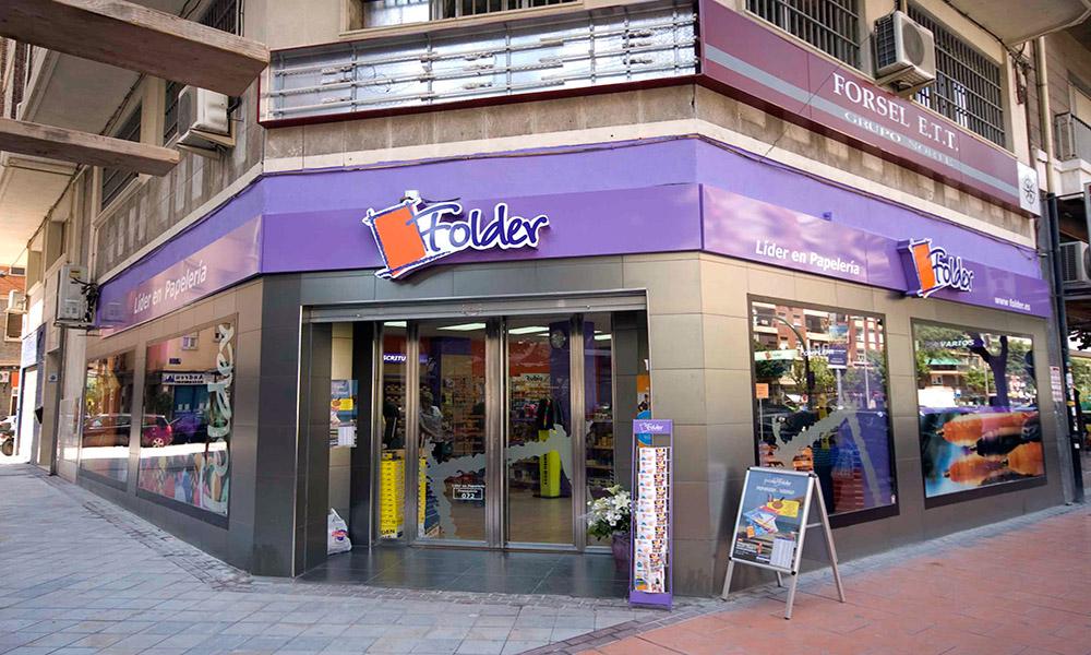Reforma de locales en Murcia - Librería Folder 02