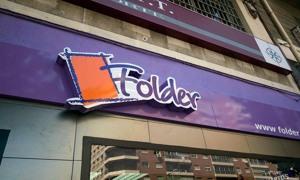 Reforma de locales en Murcia - Librería Folder 01