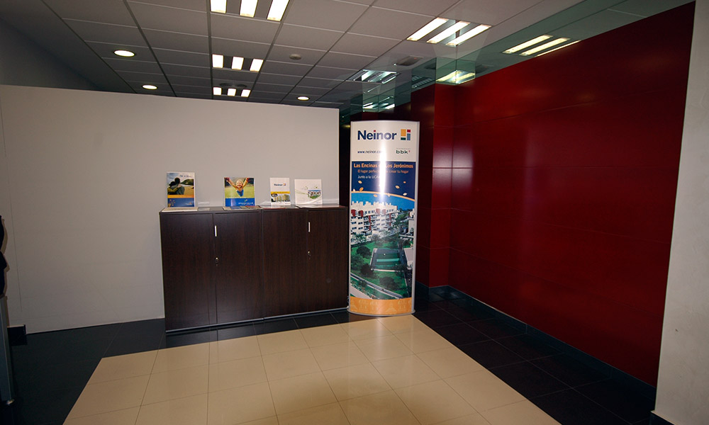 Neinor Molina de Segura - Reforma de oficinas en Murcia