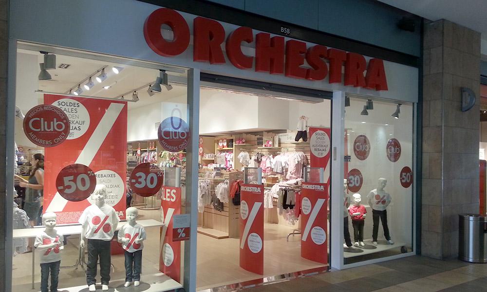 Tienda Orchesta - Reforma de tiendas en Murcia